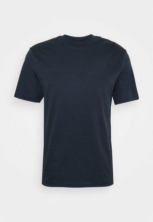 ACE MOCK NECK  - Basic T-shirt - navy