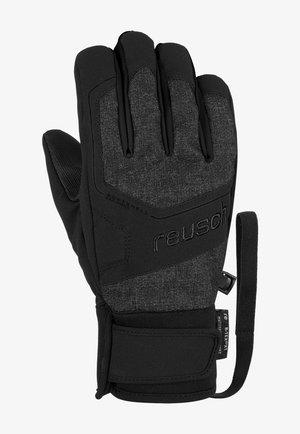 TORBY R-TEX® XT  - Gloves - blck melange/blck/blck