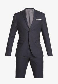 Isaac Dewhirst - BIRDSEYE SUIT - Suit - dark blue - 9
