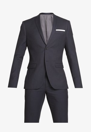 BIRDSEYE SUIT - Kostym - dark blue