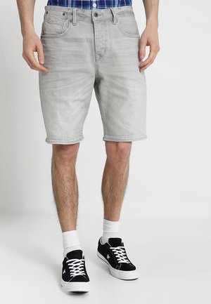 BIKER - Short en jean - vista grey