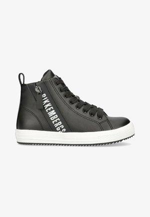 CON  DECORATIVA - Sneakers alte - black