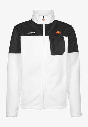 ALONSO - Fleece jacket - white