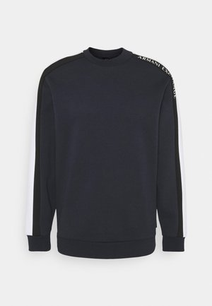 Langarmshirt - navy/white/black