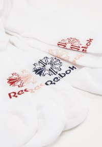 Reebok Classic - NO SHOW SOCK 3 PACK - Ponožky - white - 2