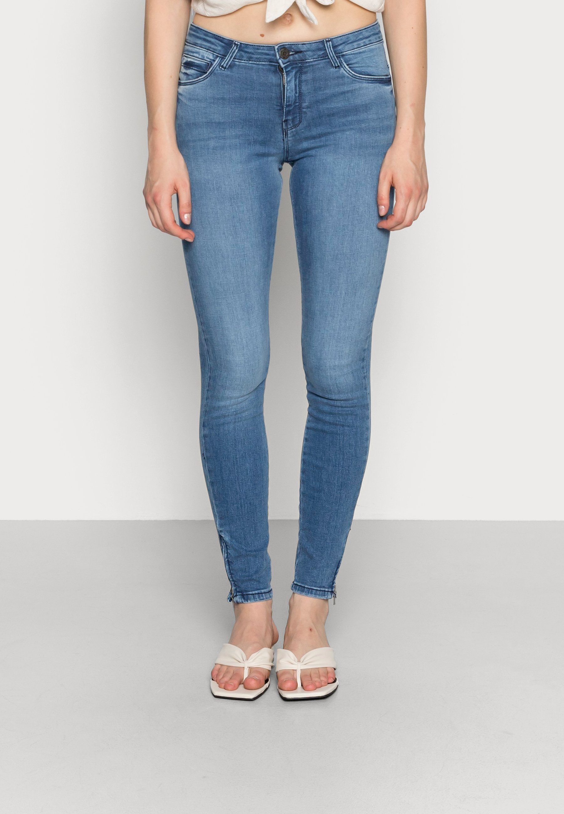 Donna NMKIMMY ANKLE ZIP - Jeans Skinny Fit