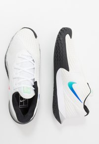 Nike Performance - AIR ZOOM VAPOR CAGE 4 - Multicourt tennis shoes - summit white/white/black/electro green - 1