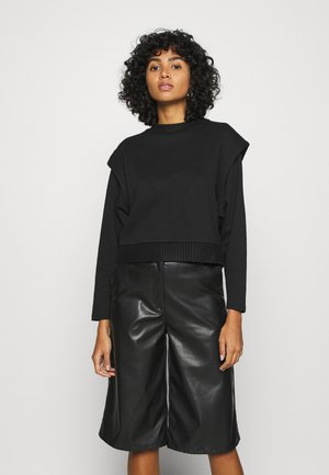ONLFIA O NECK  - Sweatshirt - black
