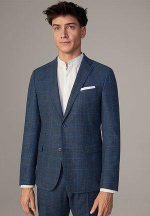 blazer - blau kariert