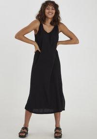 PULZ - NELLY  - Sukienka letnia - black beauty - 0