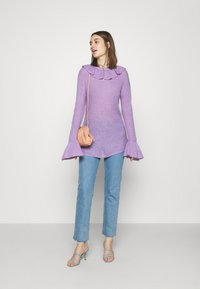 Who What Wear - RUFFLE - Jumper - lavender - 1