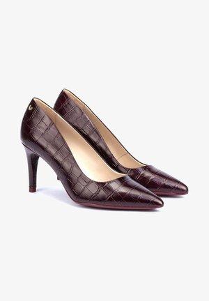 Zapatos altos - bordeaux