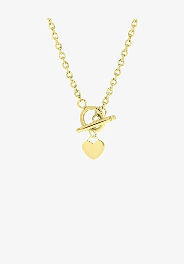 Necklace - goudkleurig