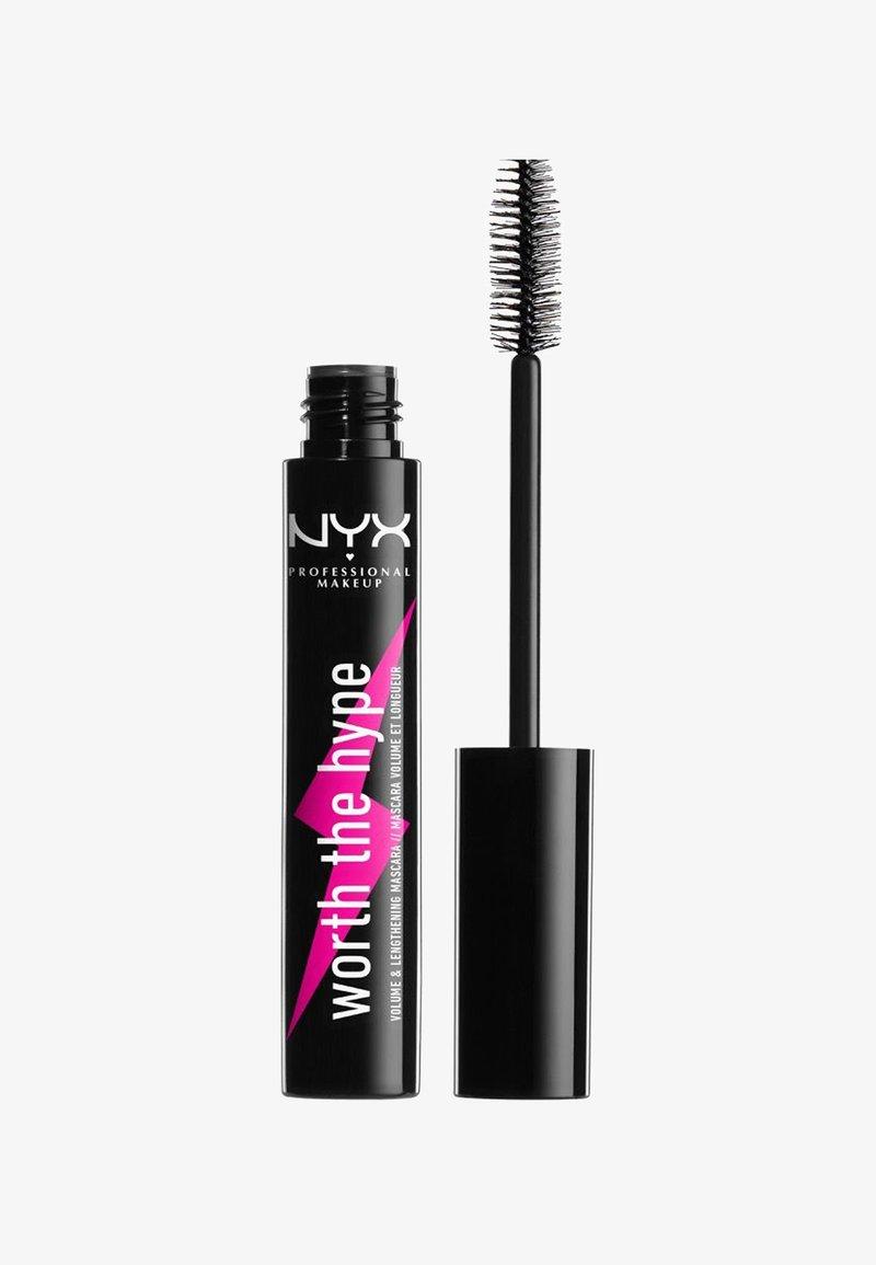 Nyx Professional Makeup - WORTH THE HYPE MASCARA - Mascara - black