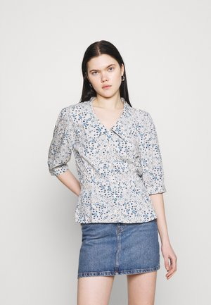 OBJFIONA  - Button-down blouse - sandshell