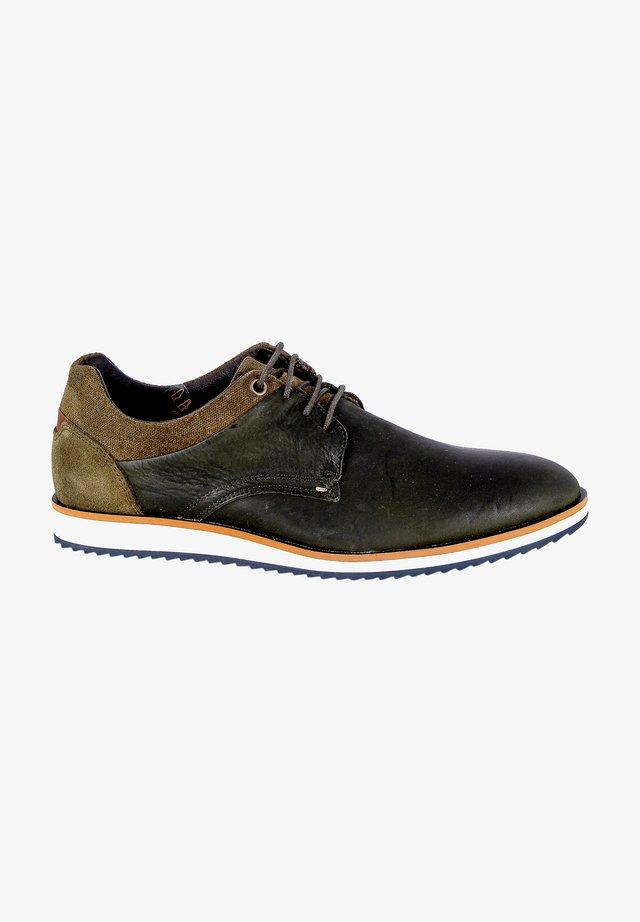 Chaussures à lacets - kaki