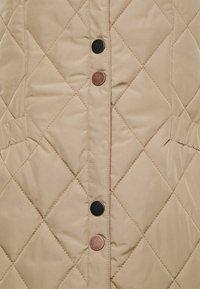 Cream - CRMELIKA QUILTED WAISTCOAT - Waistcoat - beige - 2
