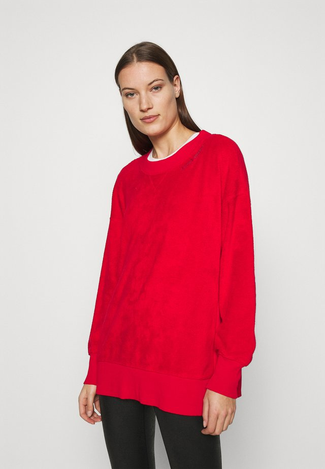 GARDEN CREW - Sweat polaire - chilly red