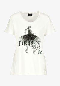Monari - MIT DETAILS - Print T-shirt - off white - 0