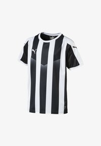 Puma - LIGA  - Print T-shirt -  black- white - 0