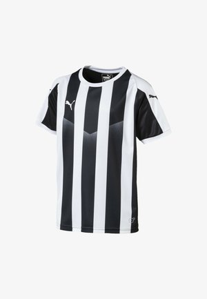 LIGA  - Print T-shirt -  black- white