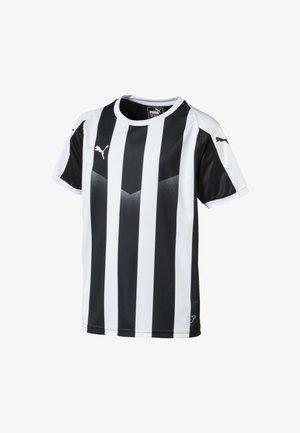 LIGA  - T-Shirt print -  black- white