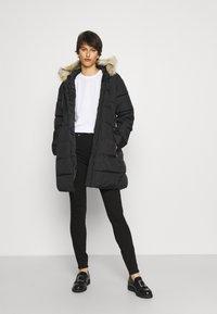 Gap Tall - SKINNY EVER DARK - Jeans Skinny Fit - absolute black - 1