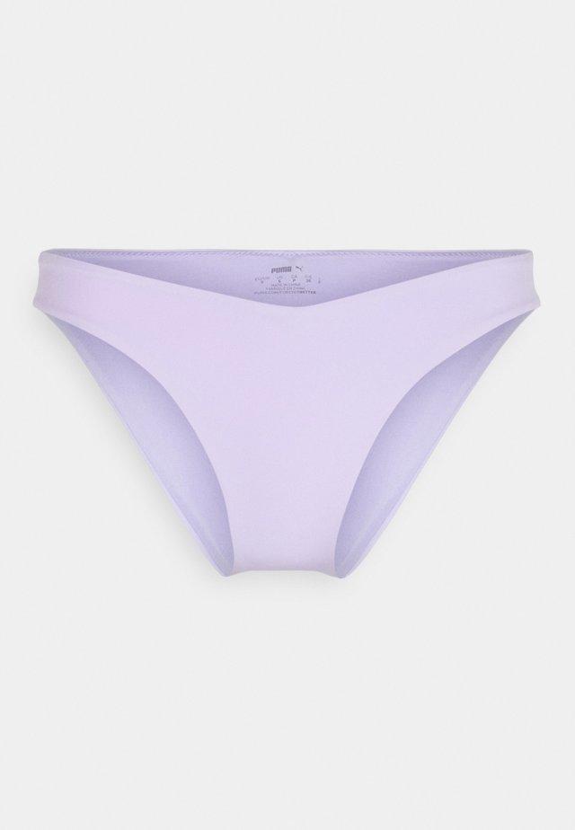 SWIM WOMEN V SHAPE BRIEF - Bikinibroekje - purple
