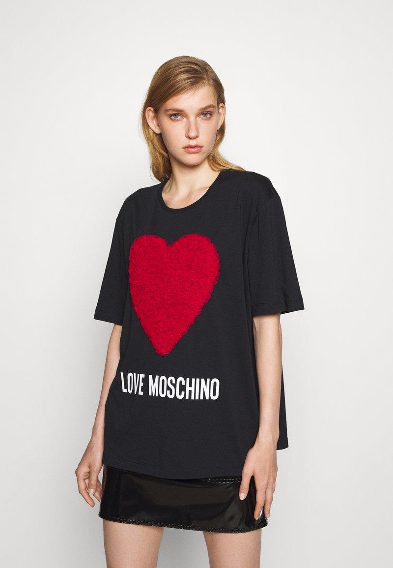 Love Moschino - Triko spotiskem - rosso