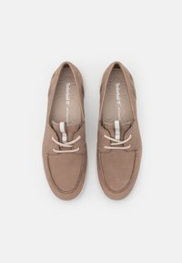 Timberland - BRADSTREET ULTRA BOAT - Casual lace-ups - taupe - 6