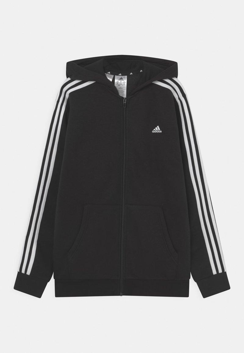 adidas Performance - UNISEX - Vetoketjullinen college - black/white
