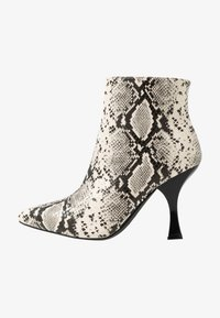 RAID Wide Fit - TILLY - High heeled ankle boots - beige - 1