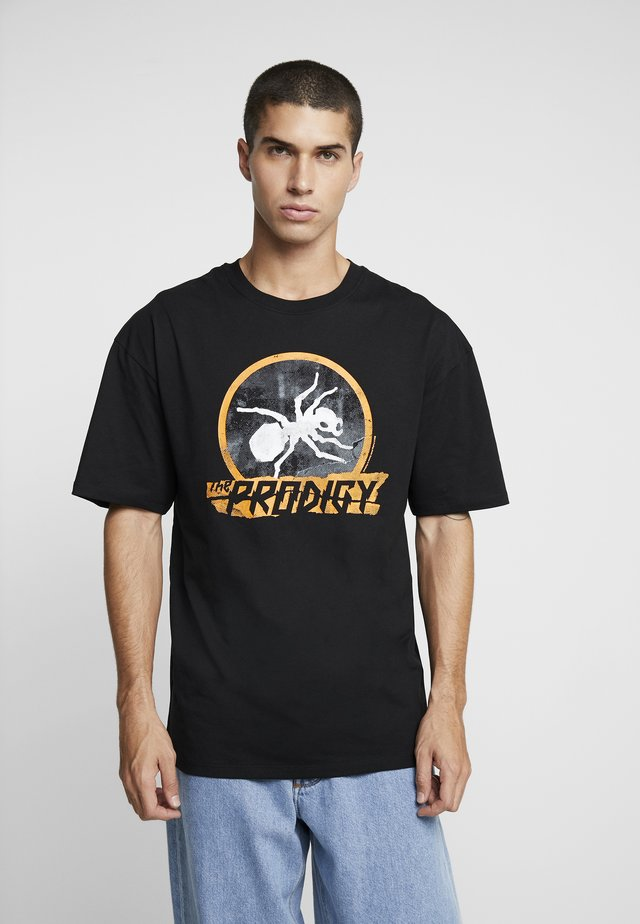 PRODIGY - T-shirt con stampa - black