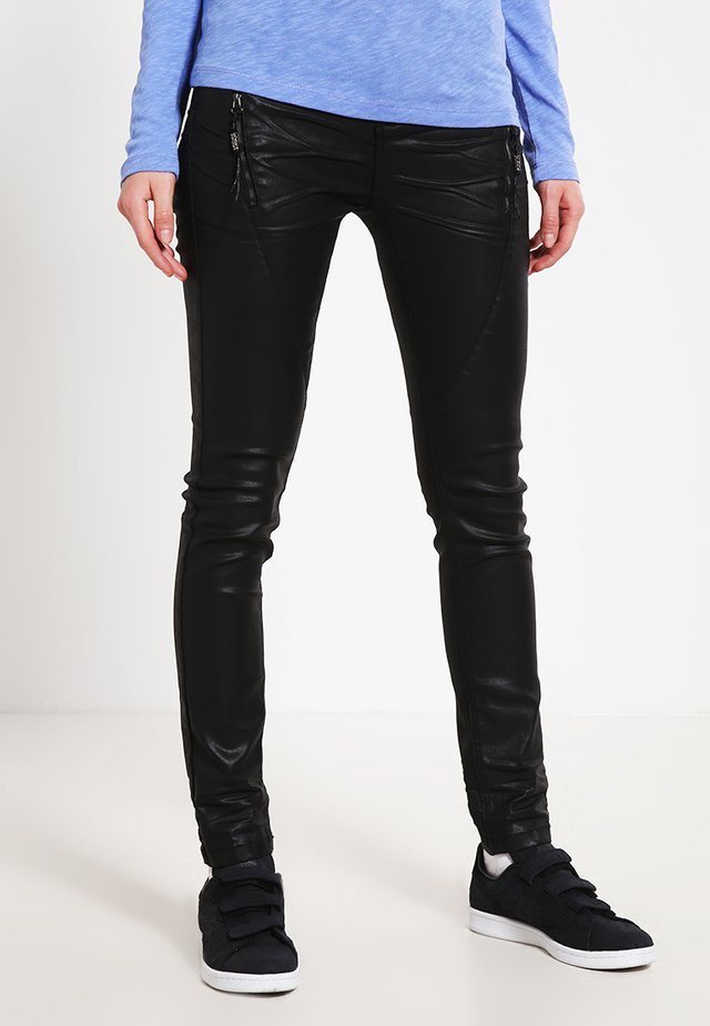 Slim fit jeans - pitch black