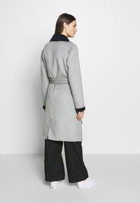 Expresso - BRENDA - Classic coat - hellgrau - 2