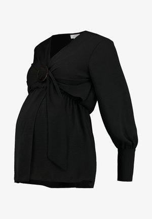 NURSING BUCKLE BLOUSE - Blusa - black