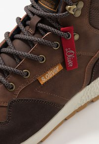 s.Oliver - High-top trainers - brown - 5