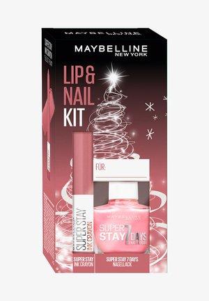 LIP + NAIL KIT 2 - Makeup set - -