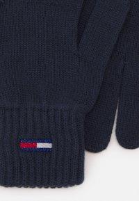 Tommy Jeans - BASIC FLAG GLOVES - Rękawiczki pięciopalcowe - blue - 1