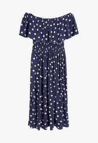 Next - SPOT - Maxi dress - blue - 4