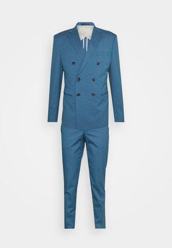 SLHSLIM DAXLOGAN - Jakkesæt - heritage blue