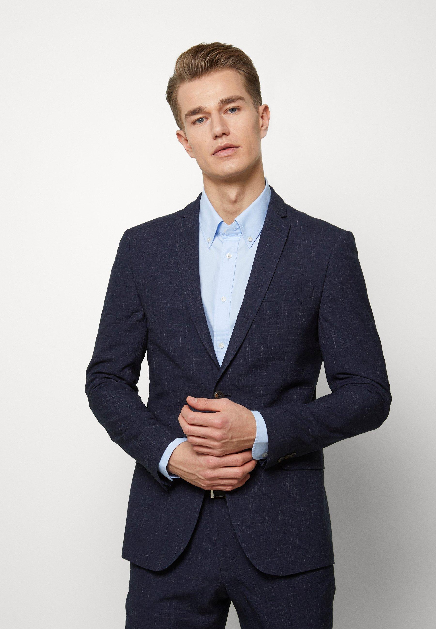 Men MIDNIGHT FLECK SUIT - Suit