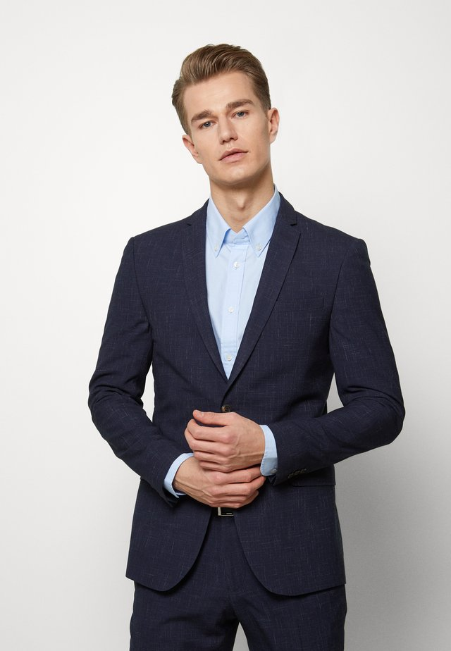 MIDNIGHT FLECK SUIT - Suit - navy