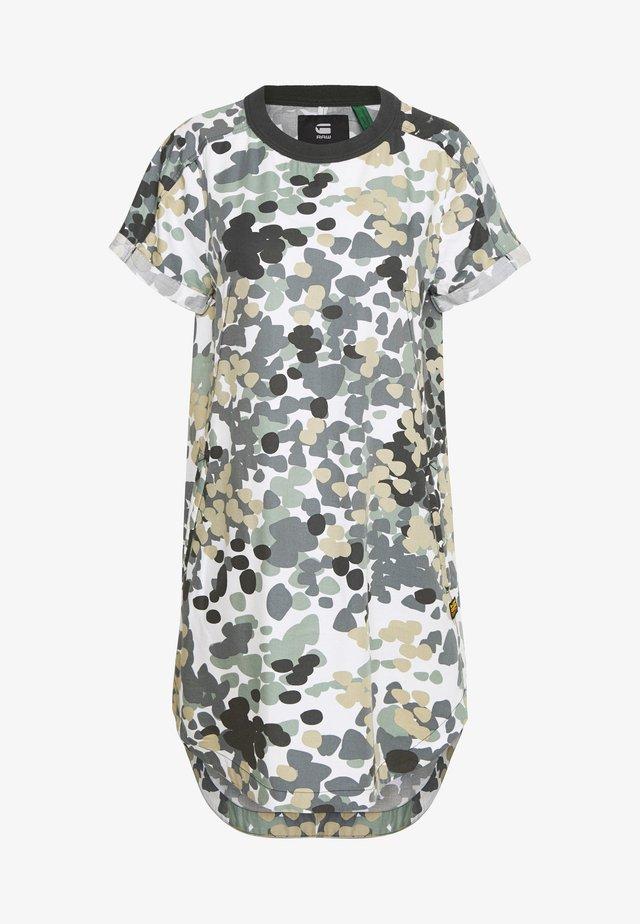 WOVEN  - Denim dress - khaki/olive