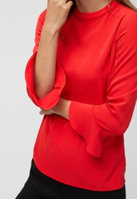 Next - HIGH NECK FLUTE SLEEVE - Blouse - red - 2