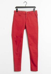 Mango - Slim fit jeans - red - 0