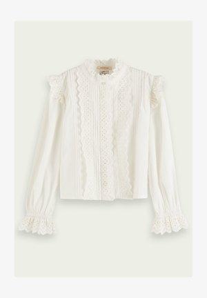 LACY  - Skjortebluser - white