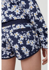 O'Neill - PRINT BEACH - Swimming shorts - blue with yellow - 2