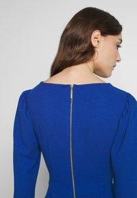 Closet - DRAPE SKIRT WRAP TIE DRESS - Shift dress - cobalt - 4