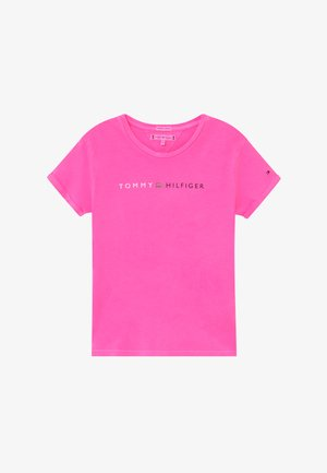 ESSENTIAL ROLL UP - Camiseta estampada - pink